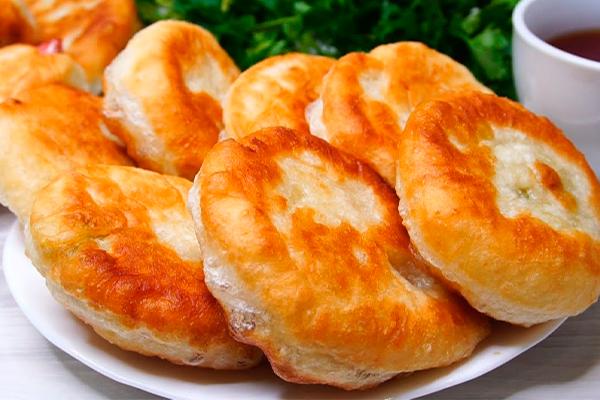 Воздушные, пуховые пирожки по ретро рецепту