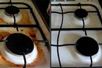 Новый способ чистки плиты без моющих средств, порошков, перекиси, горчицы