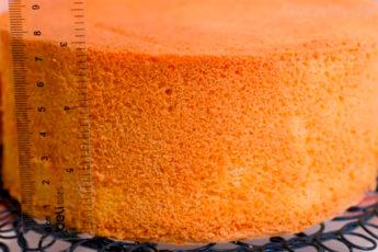 Рецепт пышного бисквита, который не опадает